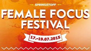 Female Focus Festival 2015 Veranstaltungsbanner