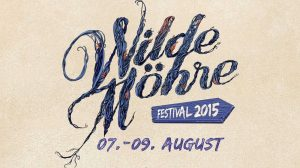 Wilde Möhre Festival 2015 Veranstaltungsbanner