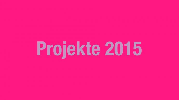 Vergabe: 2. Förderrunde 2015