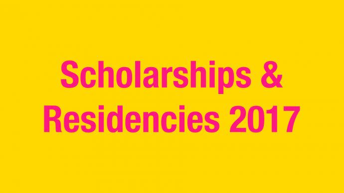 Allocation of Funding: Scholarships & Residencies 2017