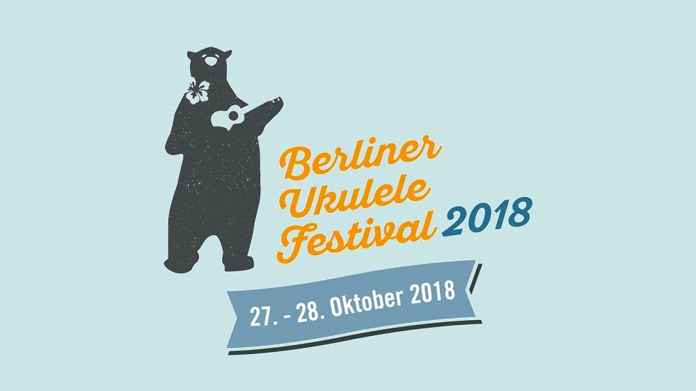 Berliner Ukulele Festival 2018 Veranstaltungsbanner