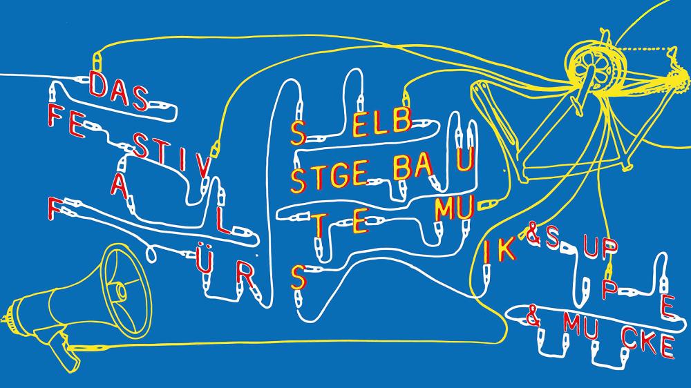 Das Festival für selbstgebaute Musik Banner