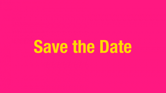 Save the Date: Infoveranstaltung