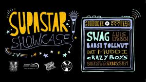Supa Star Showcase Event Banner