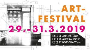 You Say Goodbye, We Say Hello Artfestival Veranstaltungsbanner