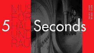 5 Seconds – Musik für Hall und Raum SPEZIAL Veranstaltungsbanner