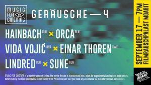 Music for Cinemas Plakat