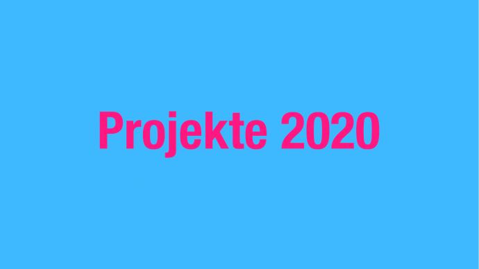 Vergabe: 1. Förderrunde 2020