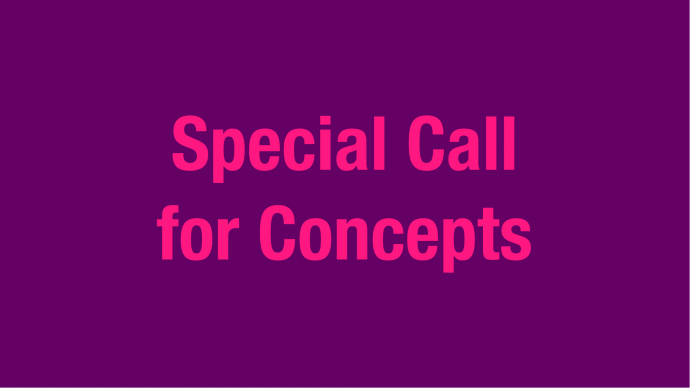 Special Call for Concepts for Pop Music Projects 2020