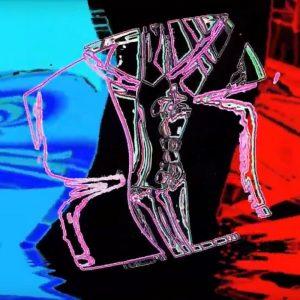 abstrakte Videografik von Schrunzel & Der blaue Schmetterling
