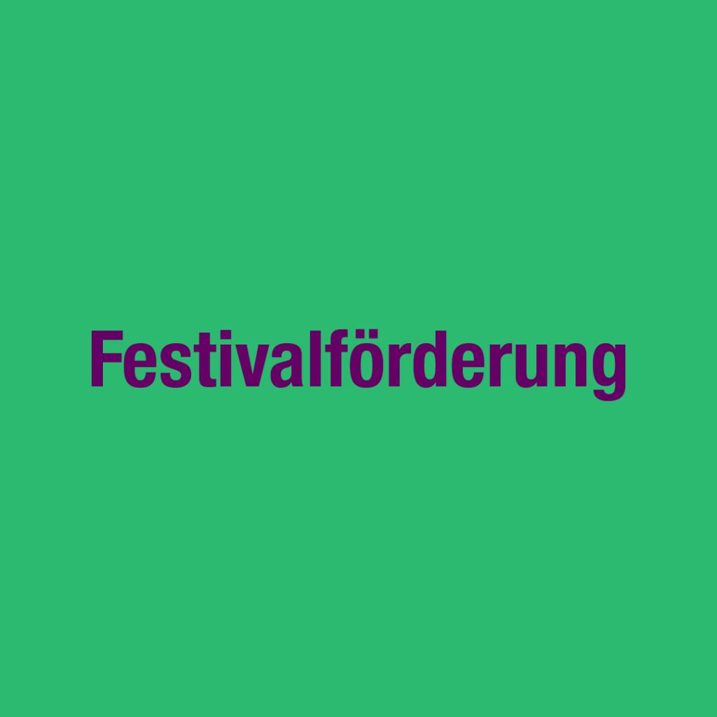 Festivalförderung