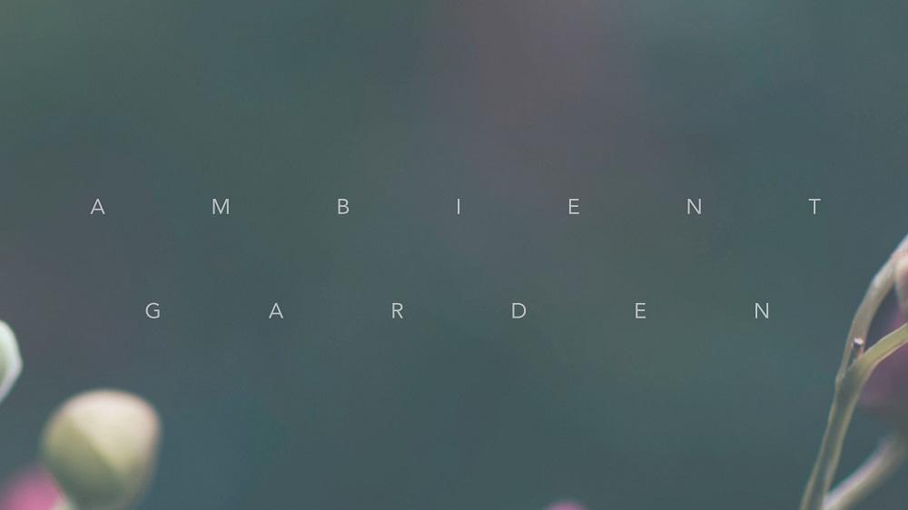 Ambient Garden Banner