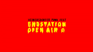 Heinersdorfer Punk Fest Endstation Open Air Banner
