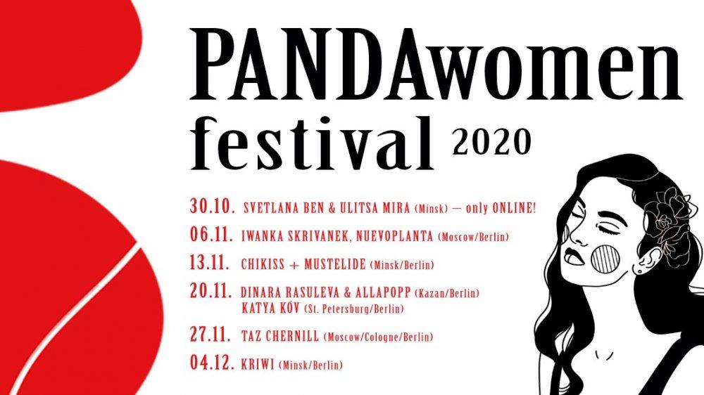 PANDAwomen 2020 Festivalbanner