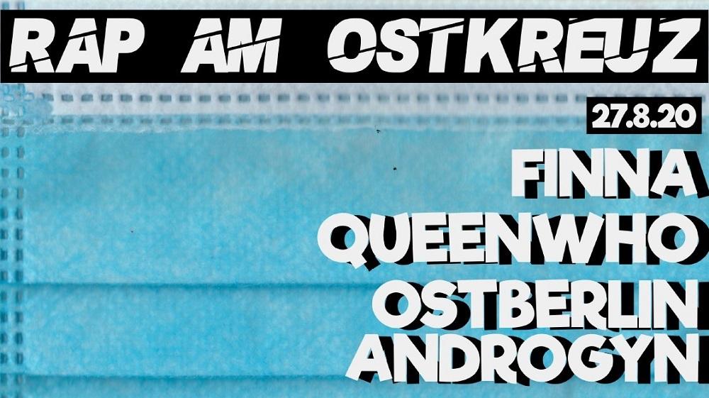 Rap am Ostkreuz Banner