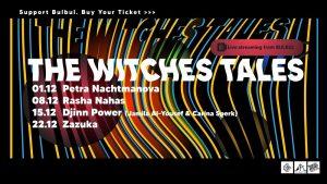 The Witches Tales Veranstaltungsbanner