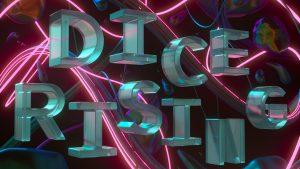 DICE RISING Logo