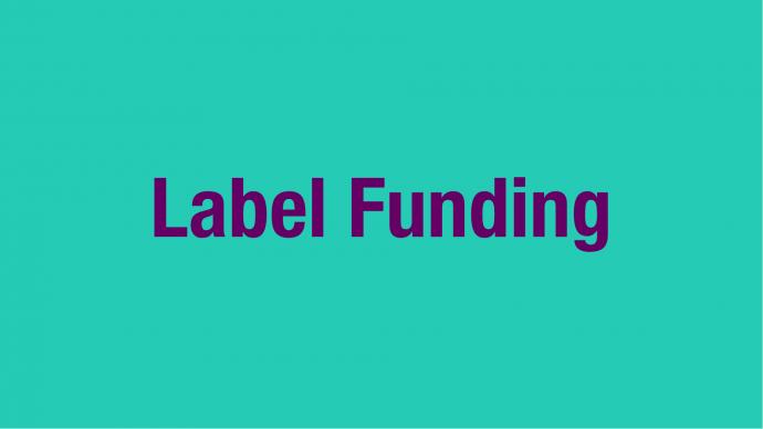 Allocation of Funding: 3rd Quarter Label Funding 2021