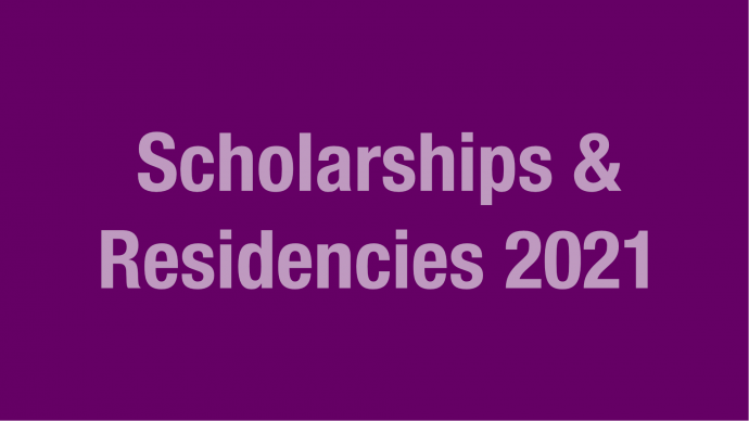 Allocation of Funding: Scholarships & Residencies 2021