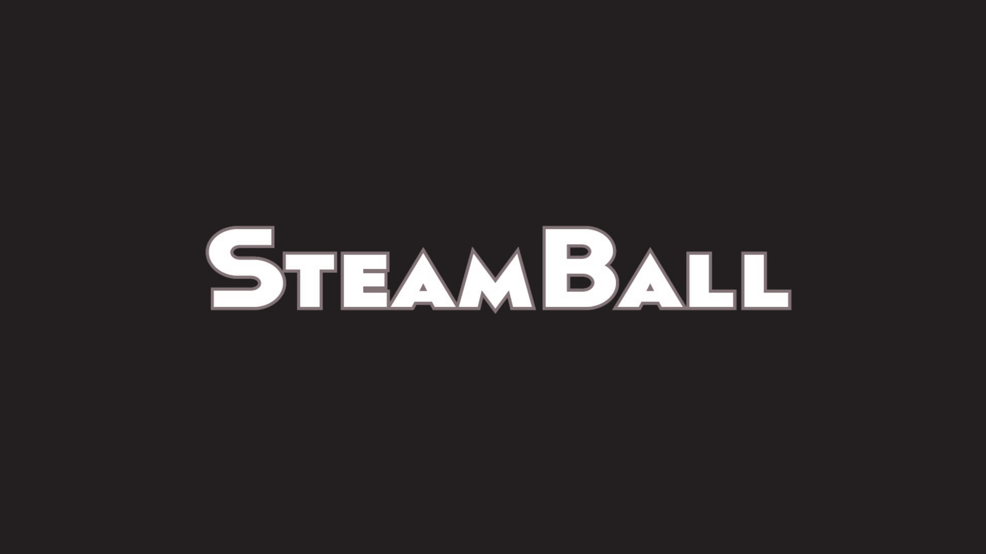 Steam Ball Schriftzug