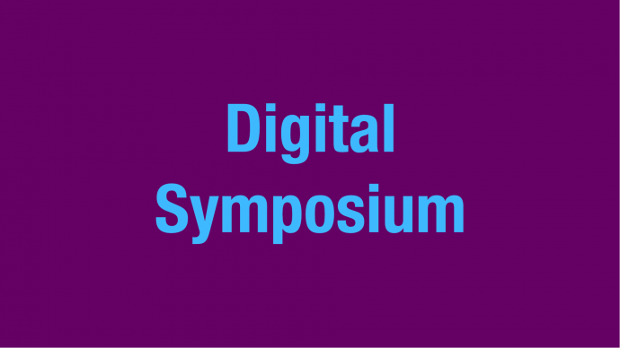 Invitation: Digital Symposium – The Artists Are Present