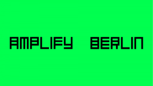 Amplify Berlin Logo