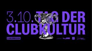 Tag der Clubkultur 2020 Event Banner