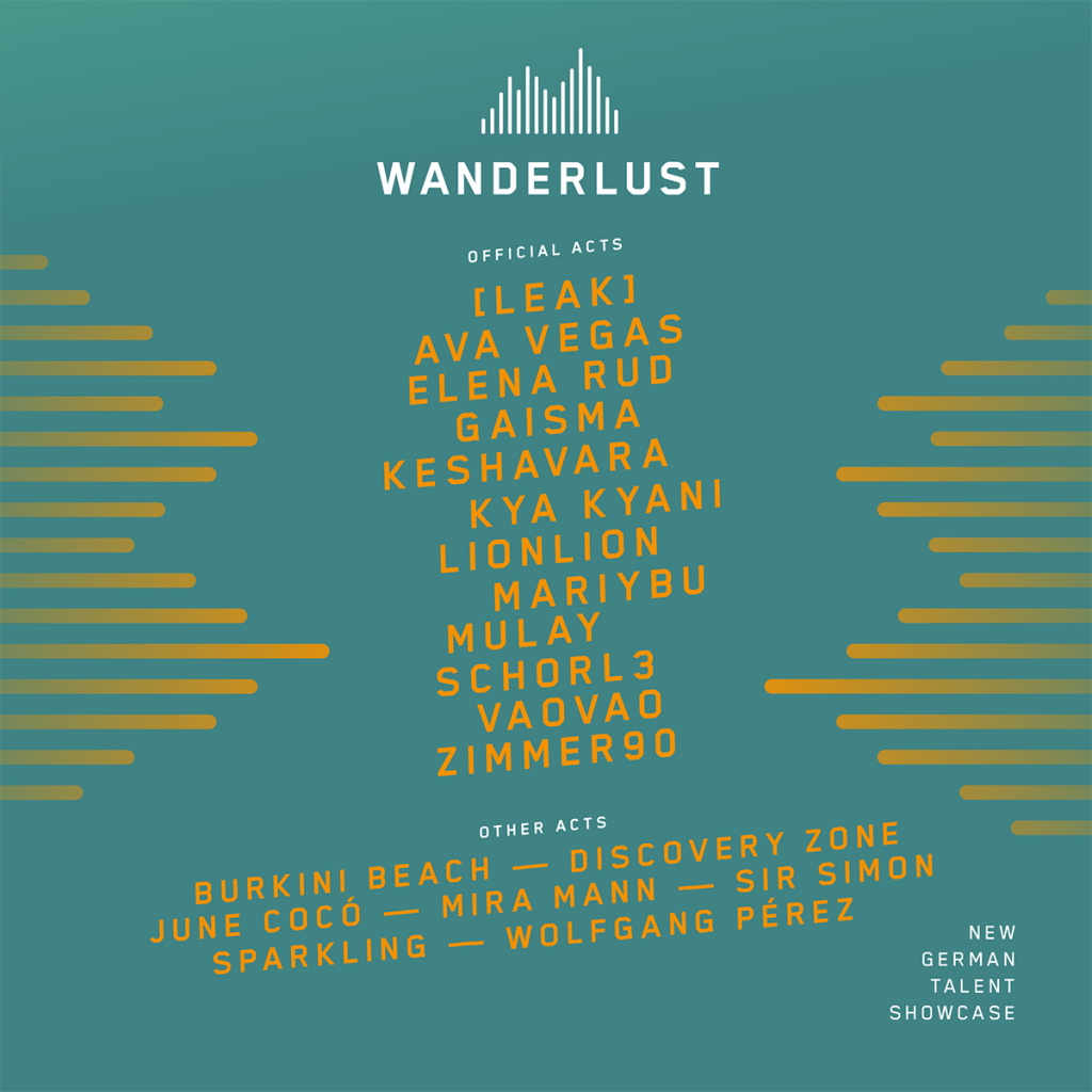 Wanderlust 2021 Line-Up