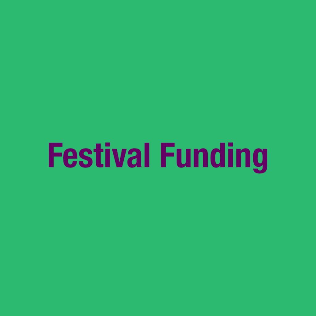 Festival Funding