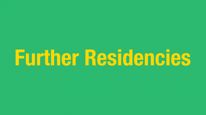 Call for Concepts: Further Residencies 2021