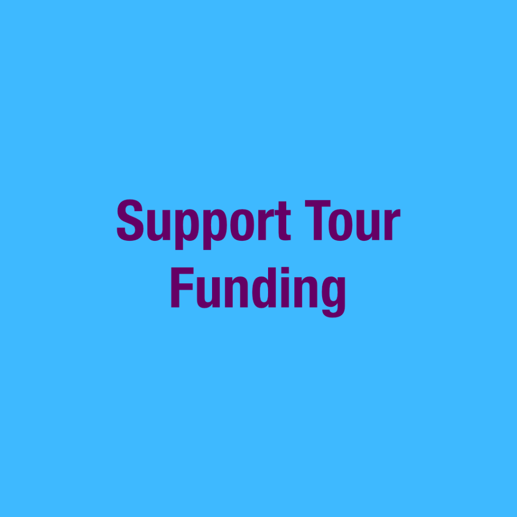 Support Tour Funding